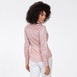 camisa rose amber costasdetalhe