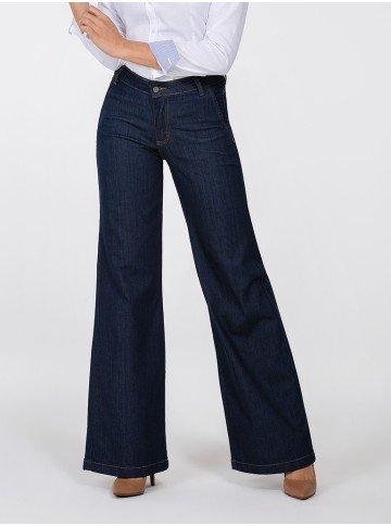 calca jeans pantalona helo