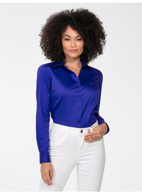 camisa azul royal perfil frente rgb