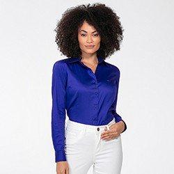 camisa azul royal detalhe frente rgb