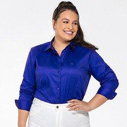 camisa azul royal plus detalhe frente rgb