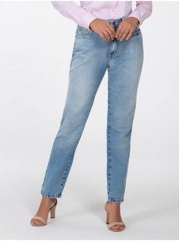 calca mom jeans evelize