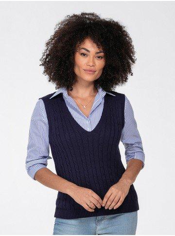 colete trico marinho hayden perfil