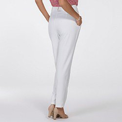 calca de alfaiataria off white kassandra mini costas