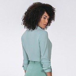 camisa feminina manga longa kailany mini costas