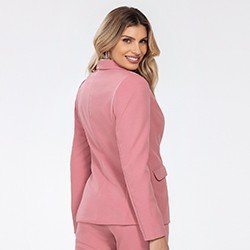 blazer alfaiataria rosa katlin mini costas