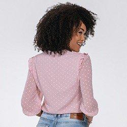 blusa rosa feminina katherine mini costas