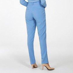 calca de alfaiataria azul lucia mini costas
