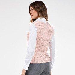 colete trico rose hedviges costas mini