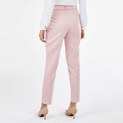 calca rose de alfaiataria penelope costas mini