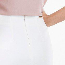 saia feminina off white abel mini detalhe
