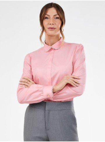 camisa feminina manga longa paloma