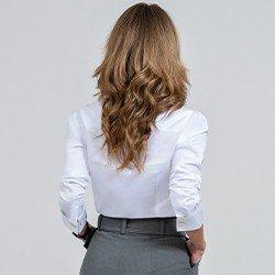 camisa branca com bordado mariana mini