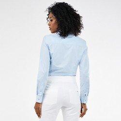 camisa azul personalizada isla mini