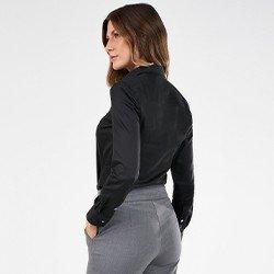 camisa preta personalizada charlie mini