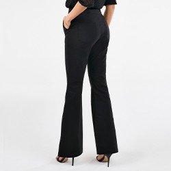 calca preta de alfaiataria rachel mini