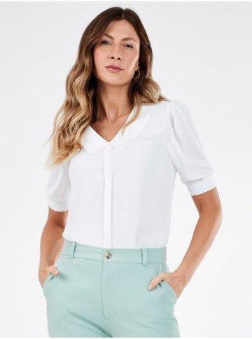 blusa feminina off white sabrine