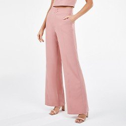 calca de alfaiataria rosa spencer mini