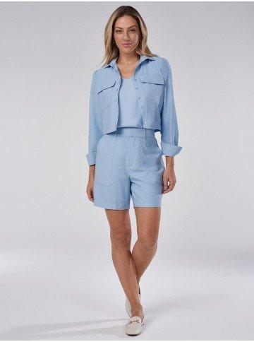 camisa feminina bomber azul thayssa
