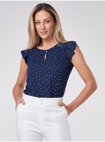 blusa decote gosta marinho vera