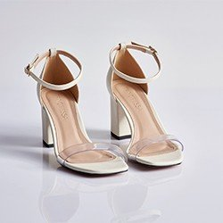 sandalia branca valdiane