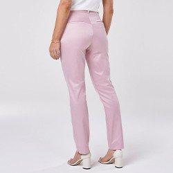 calca de alfaiataria rosa mariana mini