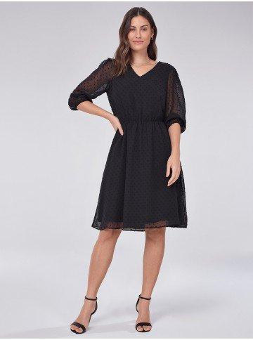 vestido preto bella